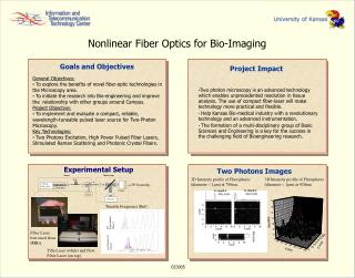 Nonlinear Fiber Optics for Bio-Imaging