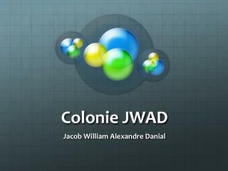 Colonie JWAD