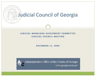 Judicial Council of Georgia