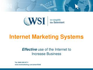 Internet Marketing Systems