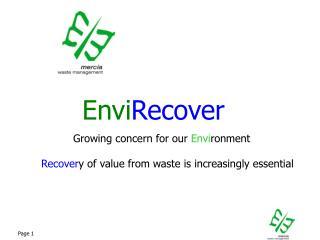 Envi Recover
