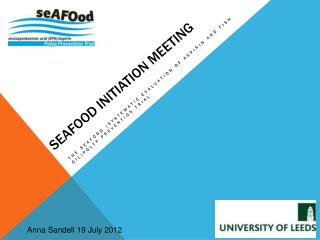 seAFOod initiation MEETING