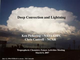 Deep Convecton and Lightning