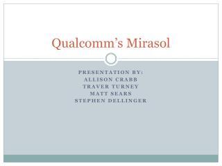 Qualcomm's Mirasol