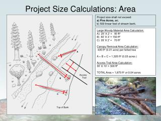 Project Size Calculations: Area