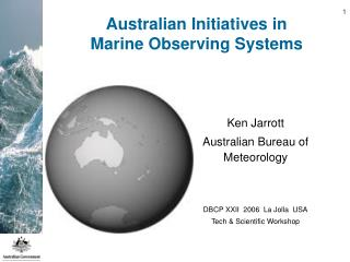 Australian Initiatives in Marine Observing Systems