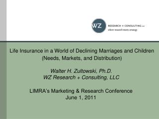 Life Insurance as an Industry  vs. Life Insurance as a Product