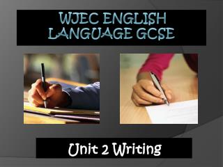 WJEC English Language GCSE