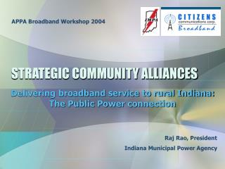 STRATEGIC COMMUNITY ALLIANCES
