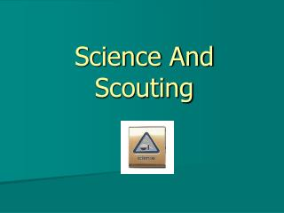 Science And Scouting