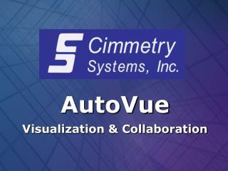 AutoVue Visualization & Collaboration