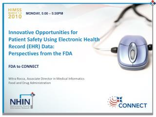 FDA to CONNECT