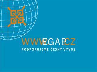 """Další směry rozvoje činnosti EGAP  """"Změny pojistných produktů"""" JUDr. Miroslav Somol, CSc."""