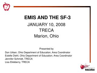 EMIS AND THE SF-3