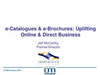 e-Catalogues & e-Brochures: Uplifting Online & Direct Business