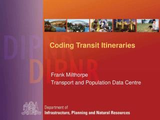 Coding Transit Itineraries