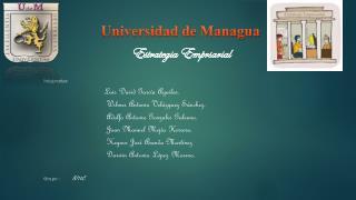 Integrantes:        Luis  David García Aguilar.