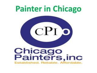 Chicago painting contractor