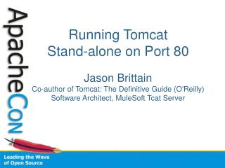 Why run Tomcat on port 80?
