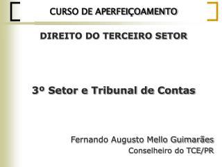 CURSO DE APERFEIÇOAMENTO