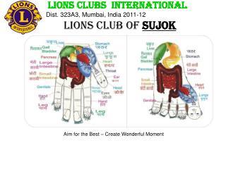 LIONS CLUBS  INTERNATIONAL                Dist. 323A3, Mumbai, India 2011-12
