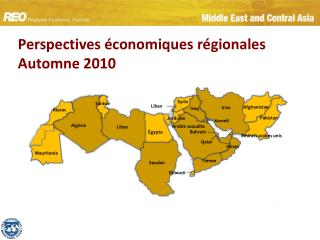 Perspectives économiques régionales  Automne 2010