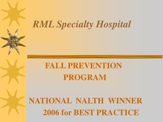 RML Specialty Hospital