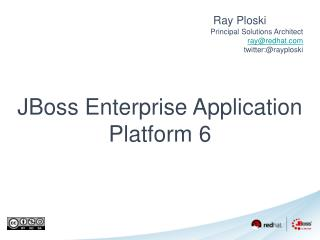 JBoss Enterprise Application Platform 6