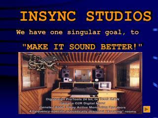 INSYNC STUDIOS
