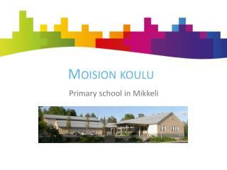 Moision koulu