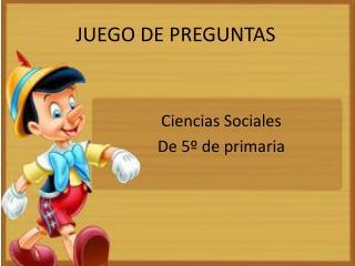 JUEGO DE PREGUNTAS