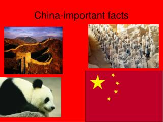 China-important facts