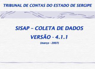 TRIBUNAL DE CONTAS DO ESTADO DE SERGIPE