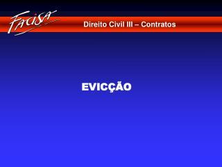 Direito Civil III � Contratos