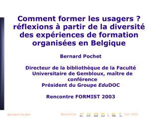 Bernard Pochet