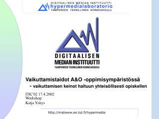 matee.tut.fi /hypermedia