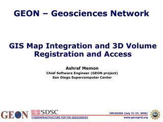 GEON – Geosciences Network