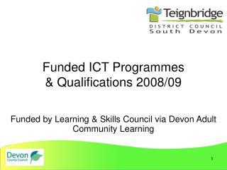 ded ICT Programmes