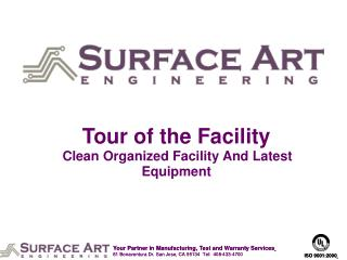 Tour of the Facility Clean Organized Facility And Latest Equipment