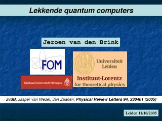 Leiden 11/10/2005