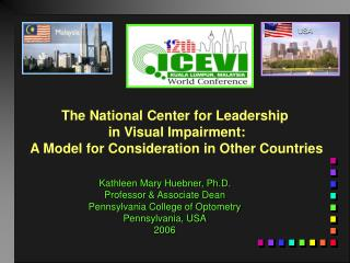 The National Center for Leadership  in Visual Impairment: