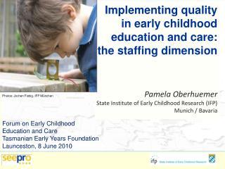 Systeme der Elementarerziehung und Professionalisierung in Europa