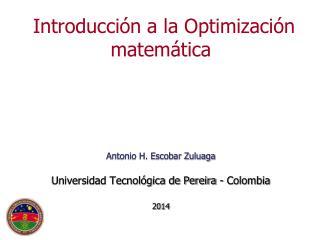 Optimización: