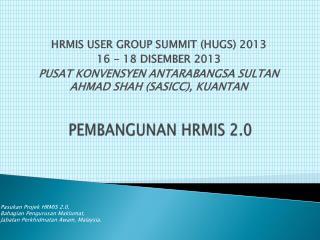 PEMBANGUNAN  HRMIS 2.0