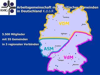 Arbeitsgemeinschaft mennonitischer Gemeinden  in Deutschland  K.d.ö.R