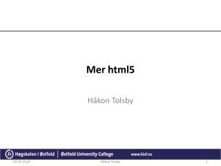 Mer  html5