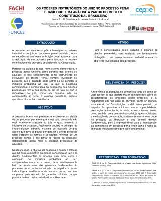 Souza, T. H. M; Gonçalves, V. O 1   Moreira; Faria, A. L. C. G. de M²
