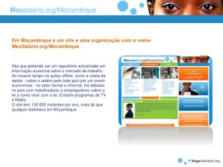Meu salario/Mocambique