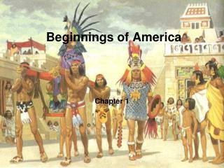 Beginnings of America