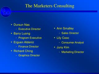 The Marketers Consulting